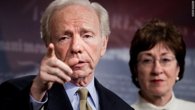 "Sens. Joe Lieberman and Susan Collins plan to introduce a separate, free-standing bill to repeal ""don't ask, don't tell."""
