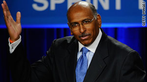 RNC chairman Michael Steele is hosting a private conference call Monday.