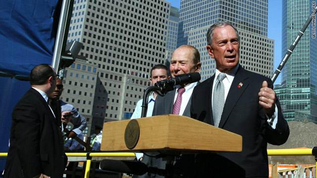 Bloomberg to urge for 9/11 health bill passage
