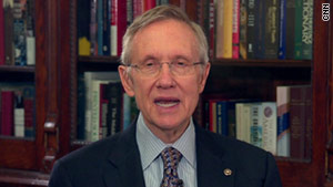 Senate Majority Leader Harry Reid says Democrats and Republicans worked together during the lame-duck session.