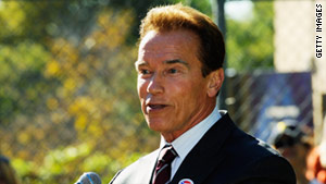 Outgoing Gov. Arnold Schwarzenegger says working for the people of California was a great honor.