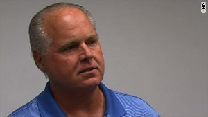 """It was a blessing,"" talk show host Rush Limbaugh said of his good health news."