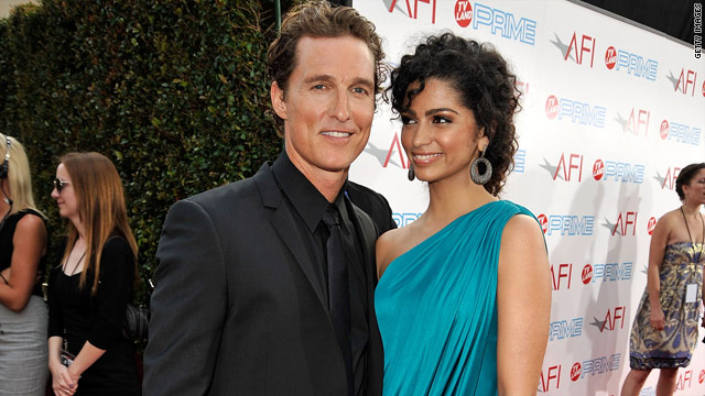 Matthew McConaughey and Camila Alves are the new parents of a daughter.
