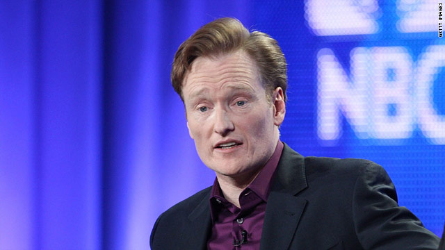 "Conan O'Brien, who left the ""Tonight Show"" on Friday, says he remains optimistic about his future."