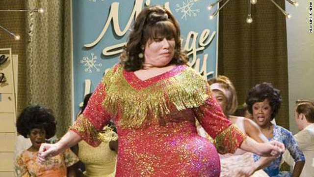 "John Travolta played Edna Turnblad in the remake of the cult film ""Hairspray."""