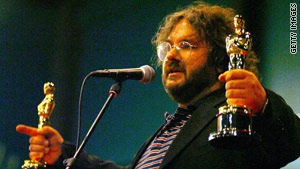 Oscar-winning writer/director Peter Jackson was knighted Wednesday in New Zealand.
