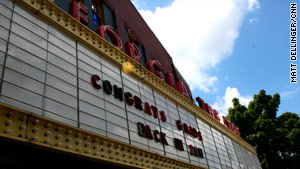 The Georgia Theatre's signature marquee out front has displayed names such as The Ramones and B.B. King.