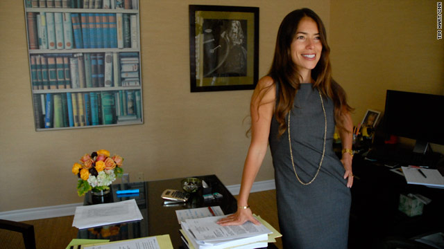 Attorney Laura Wasser and her father, Dennis, handle some of Hollyood's biggest divorce cases.