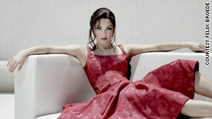 Russian opera's 'sexy babe'
