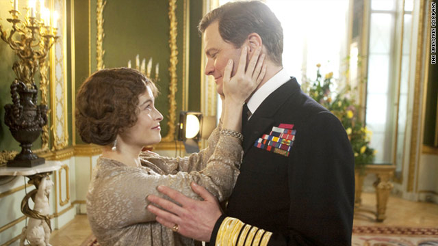 "Helena Bonham Carter and Colin Firth both received Golden Globe nominations Tuesday for their work in ""The King's Speech."""