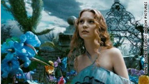 "Tim Burton's adaptation of ""Alice in Wonderland"" is one  of 2010's most anticipated movies."