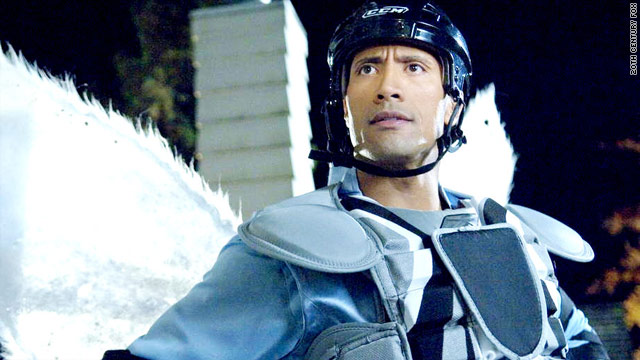 "Dwayne ""The Rock"" Johnson has to earn his wings in ""Tooth Fairy."""