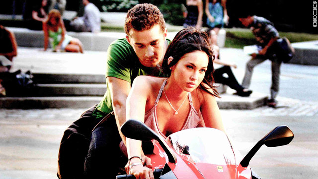 Shia LaBeouf and Megan Fox are nominated for worst screen couple.