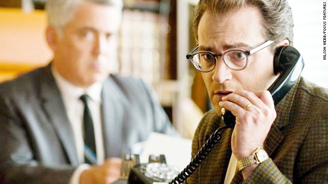 """Larry Gopnik (Michael Stuhlbarg) finds himself at wits' end in """"A Serious Man."""""""