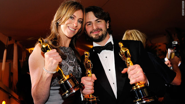 Kathryn Bigelow is the first lady to win Best Director at the Academy Awards.