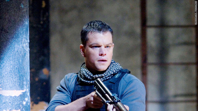 """In """"Green Zone,"""" Matt Damon plays Chief Warrant Officer Roy Miller, who has no great love for helmets."""