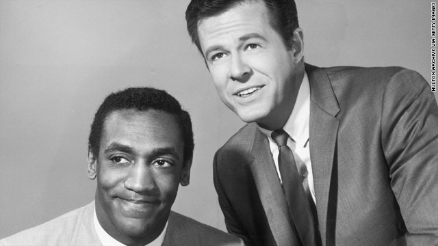Robert Culp, right, and Bill Cosby starred as partners in the '60s TV show &quot;I Spy.&quot; Culp said it was the most fun he ever had.