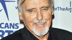 Dennis Hopper's divorce case is pending. He and his wife separated in January.