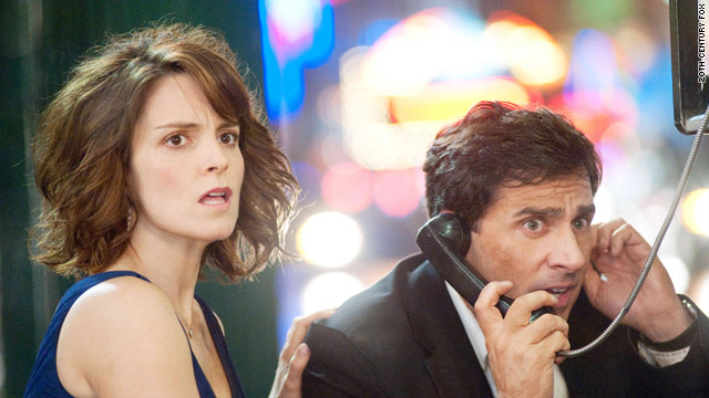 """Tina Fey and Steve Carell play married couple Phil and Clare Foster in """"Date Night."""""""