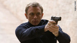Daniel Craig is the latest James Bond in the hugely popular movie series.