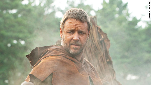 'Robin Hood' is Russel Crowe's fifth film with director Ridley Scott.