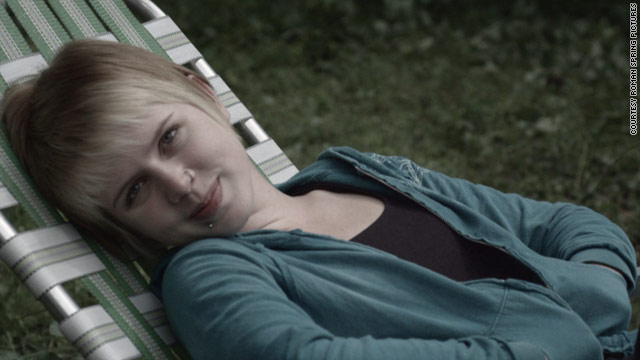 "Claire Sloma is one of the new stars at Cannes because of her standout role in ""The Myth of the American Sleepover."""