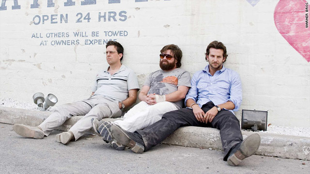 "Ed Helms, Zach Galifianakis and Bradley Cooper were all boosted by ""The Hangover."""