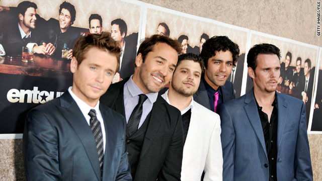 "There are high expectations for ""Entourage: The Movie."""