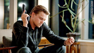 "Leonardo DiCaprio plays an ""excavator"" fighting demons of his own in ""Inception."""