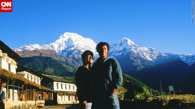 Mark Stephen Levy and his wife, Eliane, returned to Nepal for their honeymoon after meeting in Asia.