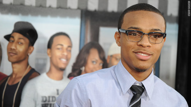 "Bow Wow arrives at the premiere of ""Lottery Ticket"" in the Hollywood."