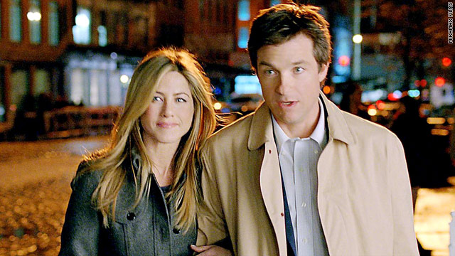Jason Bateman and Jennifer Aniston's characters are best friends. He's an investment analyst, and she wants a sperm donor.