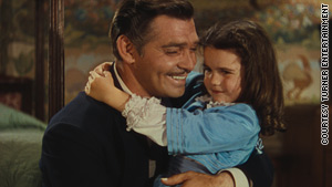 Cammie King Conlon said she recalled little from the movie but had a recollection of Clark Gable.