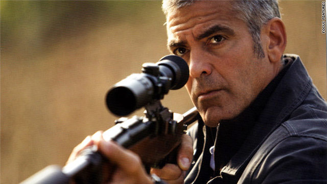 "George Clooney stars in the Anton Corbjin-directed thriller, ""The American."""