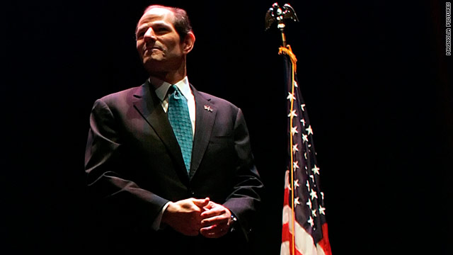 "Eliot Spitzer says he believes the documentary ""Client 9: The Rise and Fall of Eliot Spitzer"" is fair."
