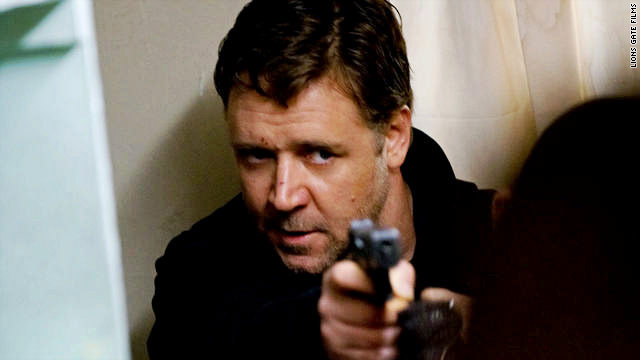 Russell Crowe plays an ordinary guy who executes a wildly complicated plan to spring his wife from prison.