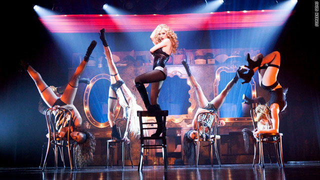 "Christina Aguilera takes on the big screen in ""Burlesque,"" which hits theaters November 24."