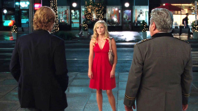 "Reese Witherspoon teams up with Owen Wilson, left, in ""How Do You Know."" Paul Rudd and Jack Nicholson also star."