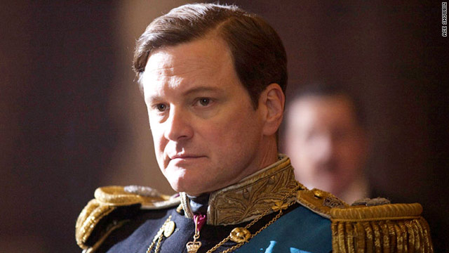 "Colin Firth plays King George VI in ""The King's Speech,"" a movie about the King overcoming a stuttering problem."