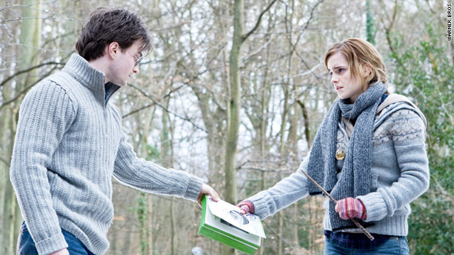 """Harry Potter and the Deathly Hallows -- Part 1"" topped the box office numbers for the second week in a row."