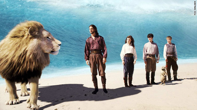 """The Chronicles of Narnia: The Voyage of the Dawn Treader"" takes its characters on a whimsical journey."