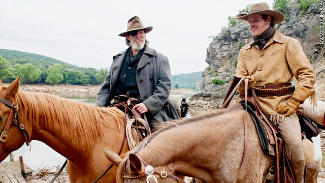 "Jeff Bridges, left, and Matt Damon star in ""True Grit,"" the Coen brothers' remake of the 1969 western with John Wayne."