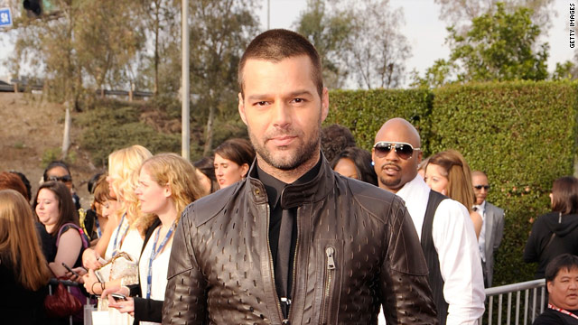 """These years in silence and reflection ... reminded me that acceptance has to come from within,"" Ricky Martin says."