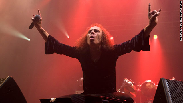 """""""He always had a kind word and a smile, and he loved the Yankees,"""" said guitarist Scott Ian of his friend, Ronnie James Dio."""