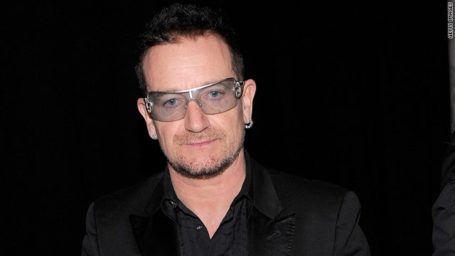 U2 singer Bono had emergency back surgery today for an injury sustained while preparing for his tour.