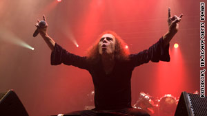 A church group plans to protest at Ronnie Dio's memorial service, calling him a Satan worshipper.
