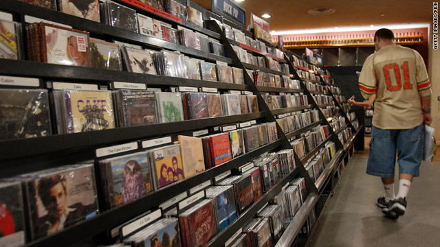 Compact disc album sales continue to be on the decline, even as digital downloads increase in popularity.