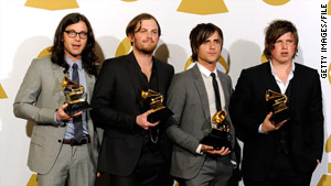 The Kings of Leon had to stop a concert because of pigeons. (Photo courtesy of CNN)