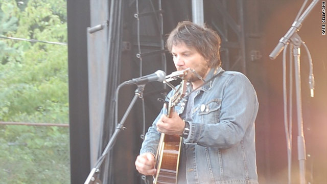 Wilco lead singer Jeff Tweedy performs at the first-ever Solid Sound Festival in Massachusetts last weekend.