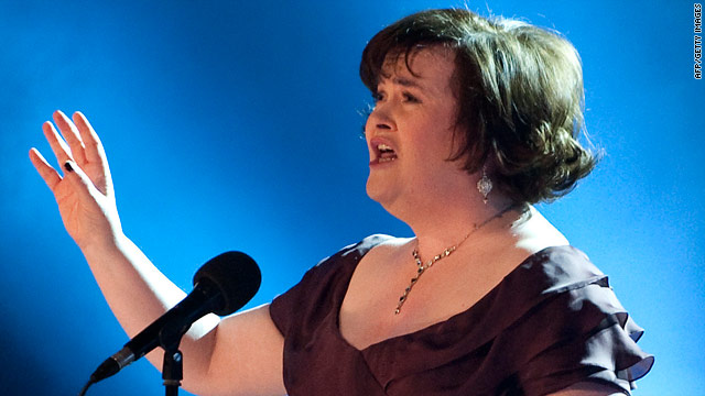 "Susan Boyle said she hoped to perform her signature song, ""I Dreamed a Dream."""